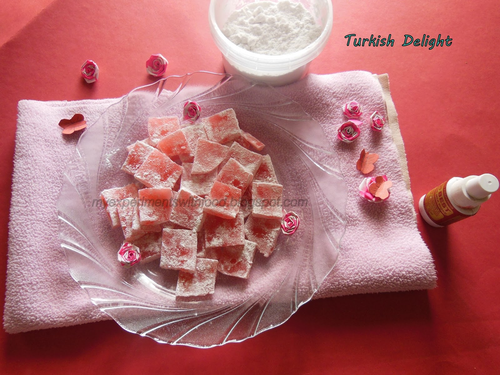 how to make turkish delight without rose water