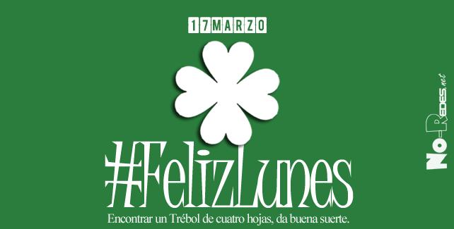 Se celebra San Patricio, patrón de Irlanda. #felizLunes