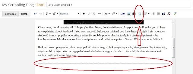 Cara Memberi 'read more' Secara Manual