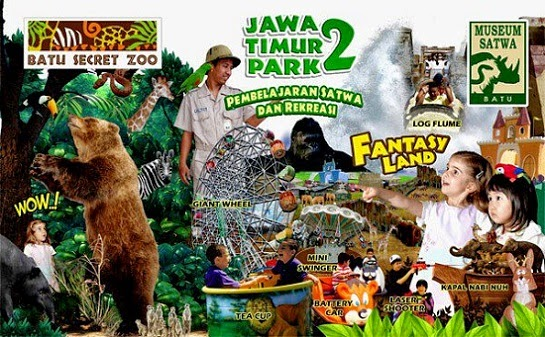 Foto tempat wisata jatim park 2