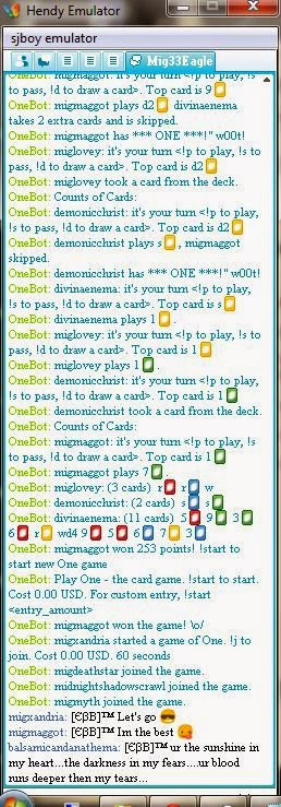 BOT AUTO GAME ONE