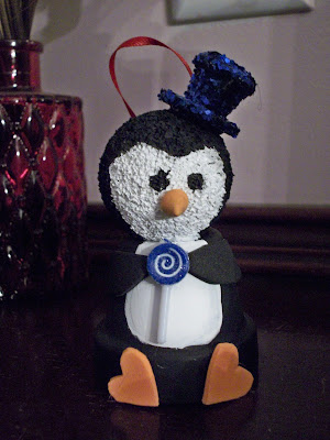 Mr. Patty Penguin ornament