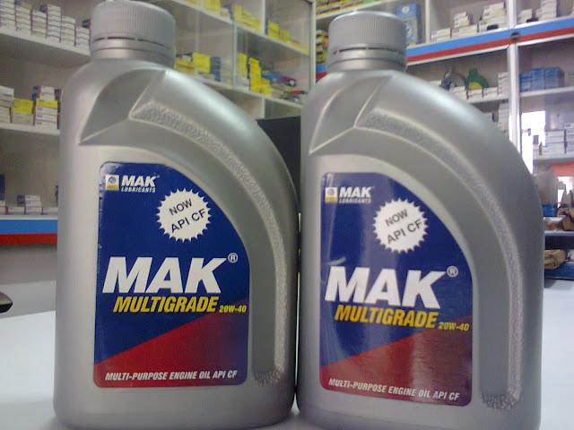Les lubrifiants MAK  s'efforcent continuellement d'améliorer la technologie de ses lubrifiants. dans - - - NEWS INDUSTRIE 20w-40%2Bmak