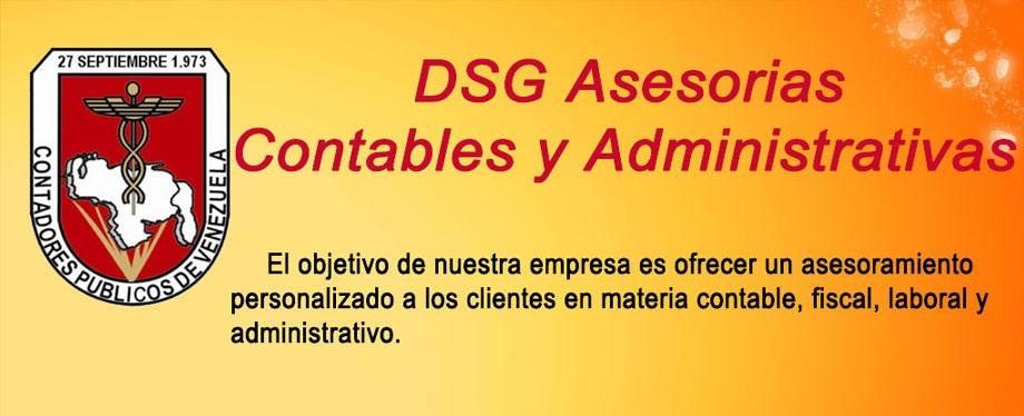 DSG ASESORIAS CONTABLES Y ADMINISTRATIVAS