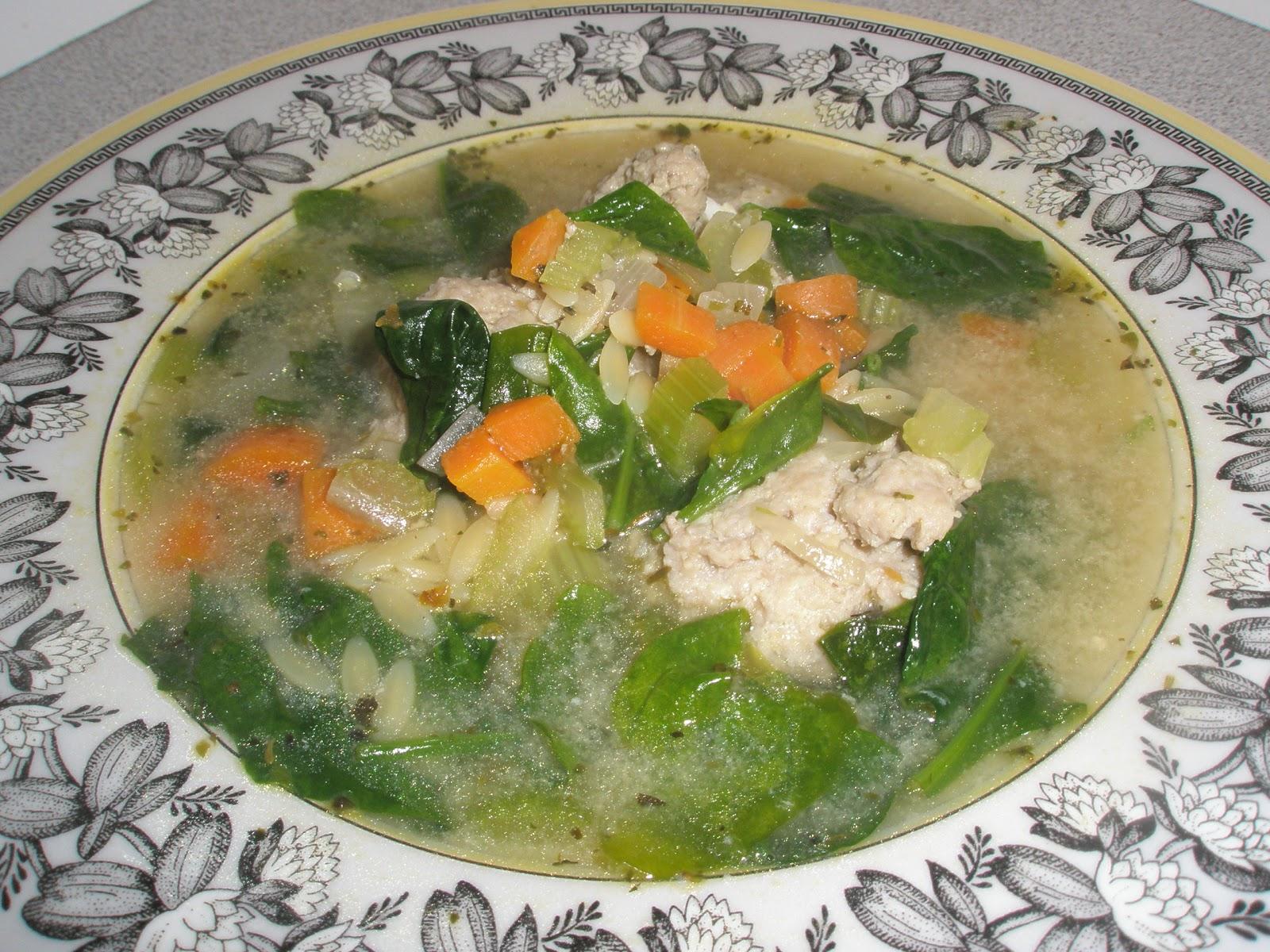 Got It Cook It Italian Wedding Soup With Turkey Meatballs