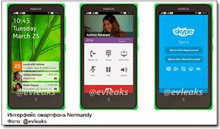 Normandy, использует так называемый «форк» (видоизмененную версию) Android