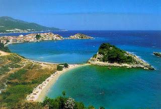 Samos, yksi Kreikan kauneimmista saarista.