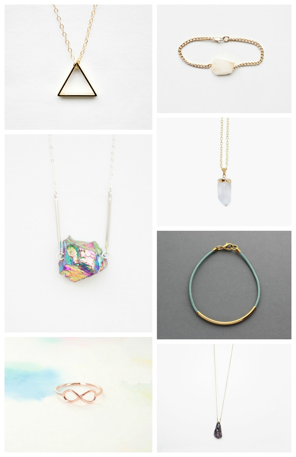 handmade jewellery wishlist