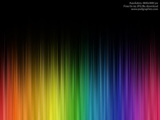 Rainbow-Colour Wallpaper