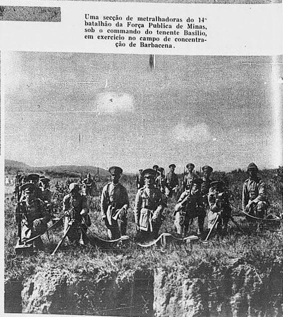 REVOLUÇAO DE 1930 - MANOBRA EM BARBACENA MG