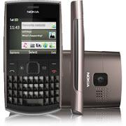 Nokia X2-01 Cinza Claro Desbloq QWERTY Redes Sociais MP3 FM Câmera 2GB
