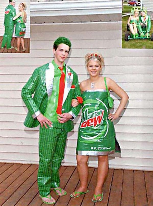 Celebrities Stuff 14 Most Bizarre Prom Dresses Of All Time