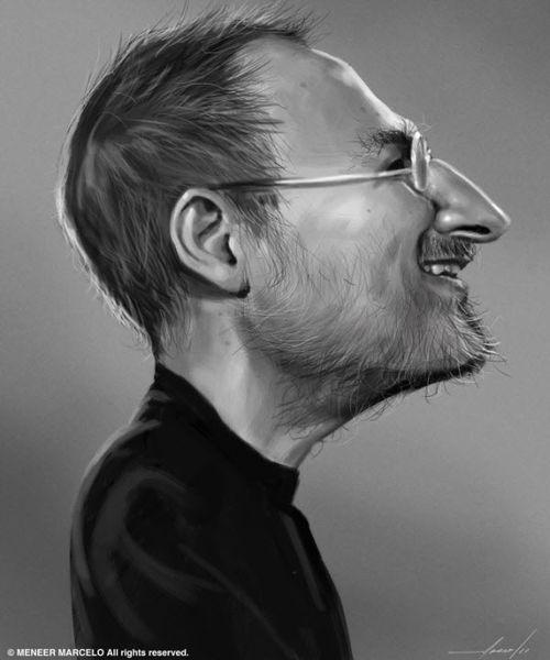 40 Lukisan Steve Jobs yang Mengagumkan: Great Steve