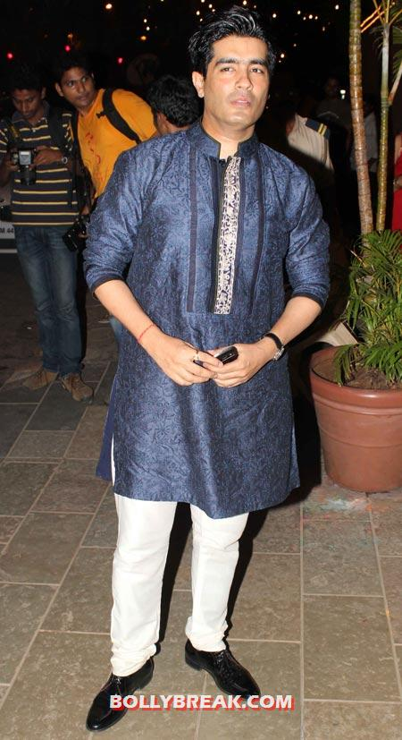Manish Malhotra - (27) - Amitabh Bachchan Diwali Bash Photos