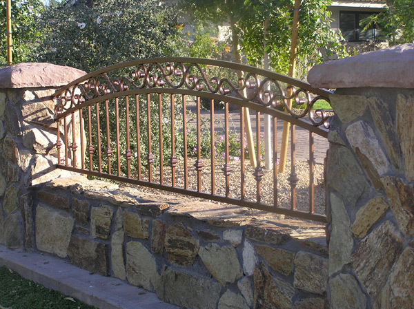 Decorative metal fence panels for Decorative wall fence