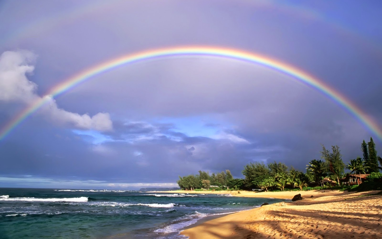 Ocean Rainbow wallpaper for your desktop