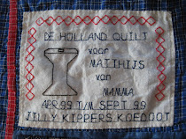 "Label voor de ""Holland Quilt"""