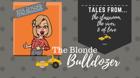 The Blonde Bulldozer