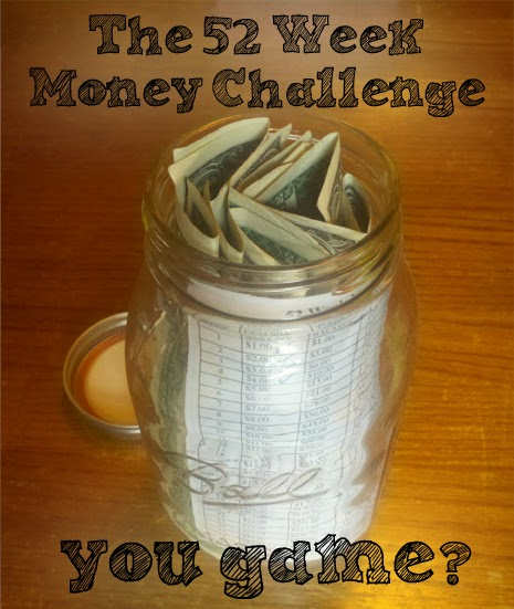 a must try  52-week money challenge