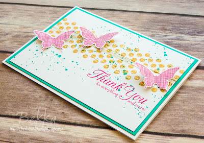 Kinda Eclectic Thank You Card - get the details here