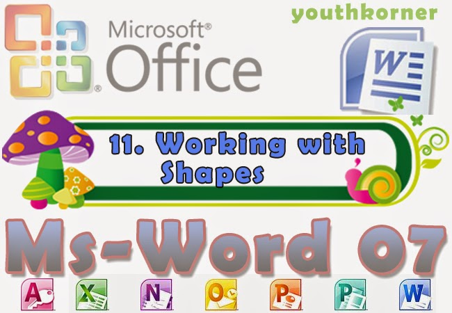 Working with Shapes in Word 2007