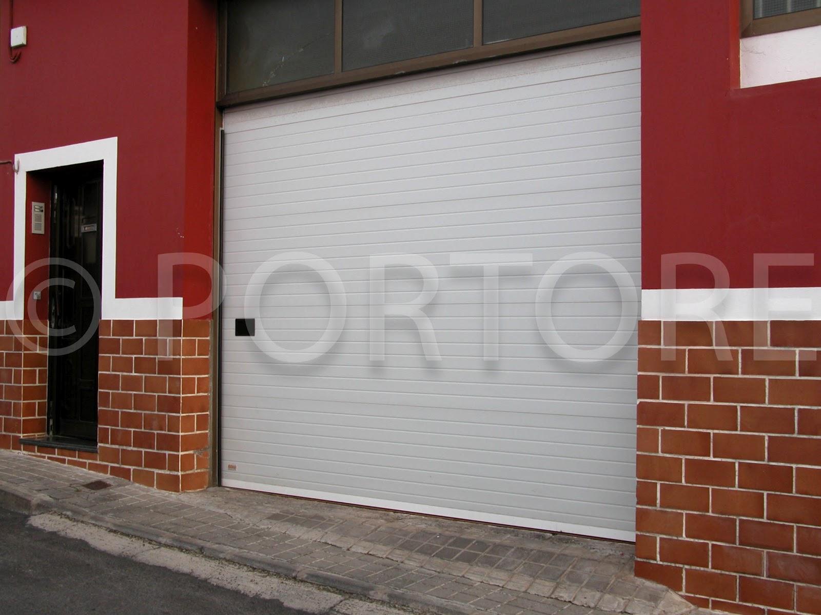 Portore s a puertas correderas de panel sandwich for Panel sandwich aluminio