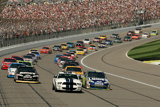 Nascar Racing Contests HD Desktop Wallpaper