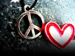 Peace and love...