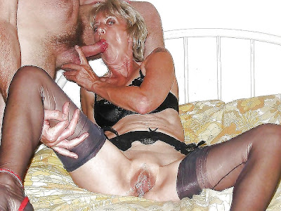 mature women showing her pussy and sucking dick