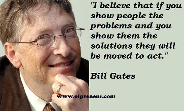 Berikut 25 quotes terbaik dan terkenal dari Bill Gates