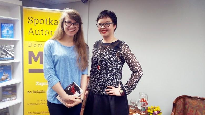 Salla Simukka i Kasia Zembrowska Warszawa