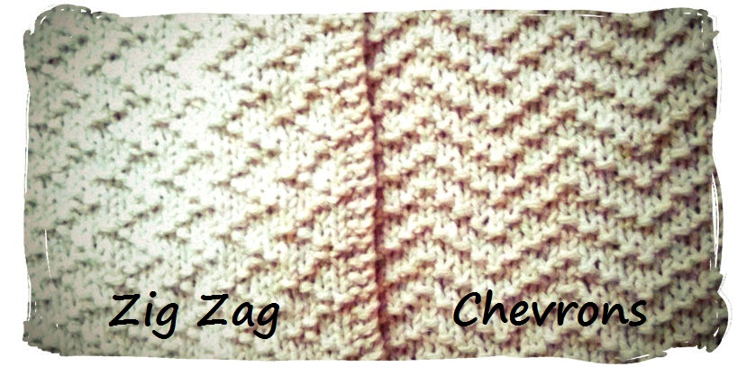 Girl Gone Granola: Knitting Project: Zig Zags Dishcloth