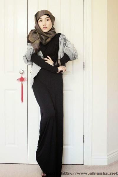Modèle vetement hijab 2014