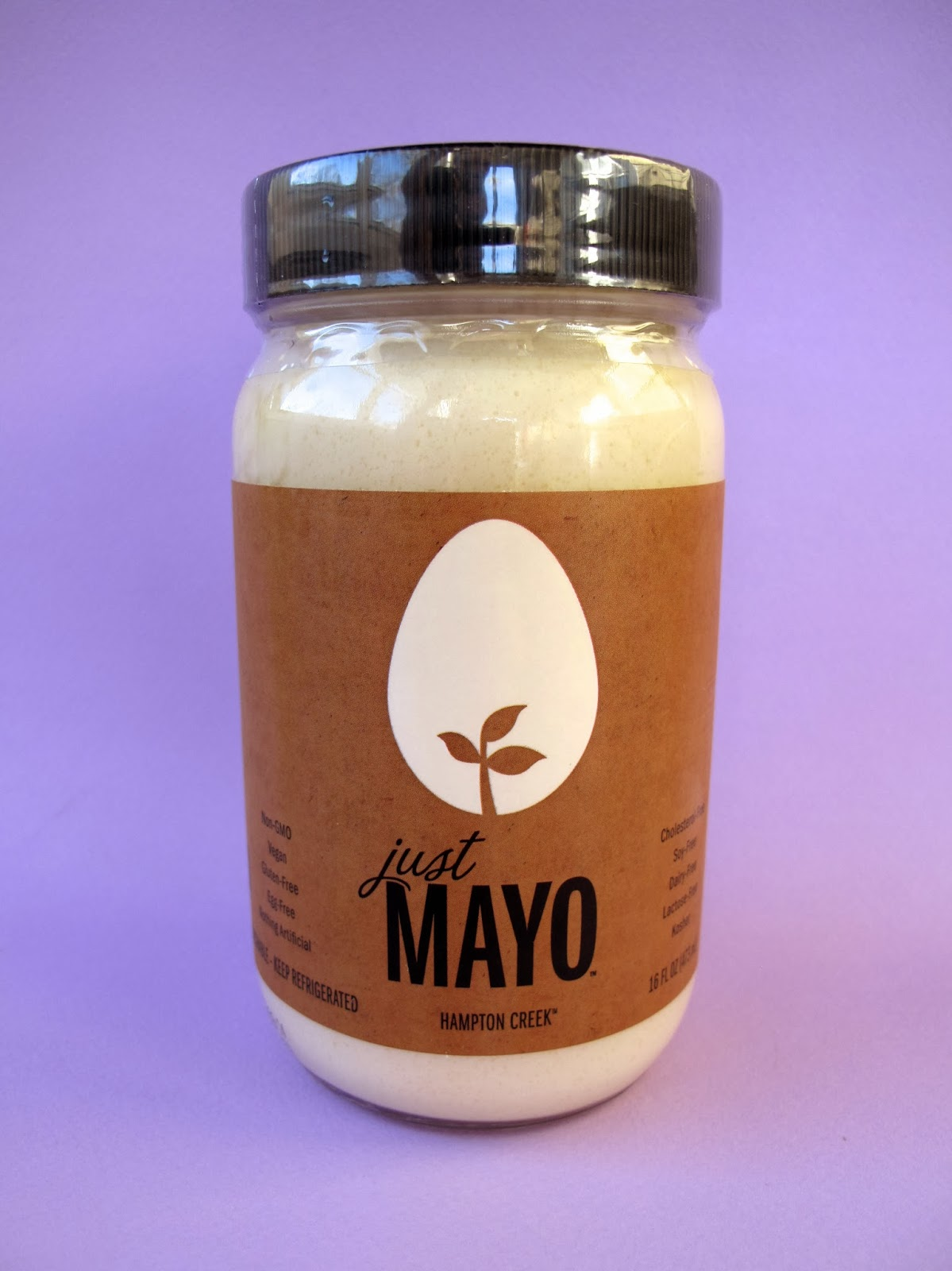 ... Laziest Vegans in the World: Hampton Creek Just Mayo Vegan Mayonnaise
