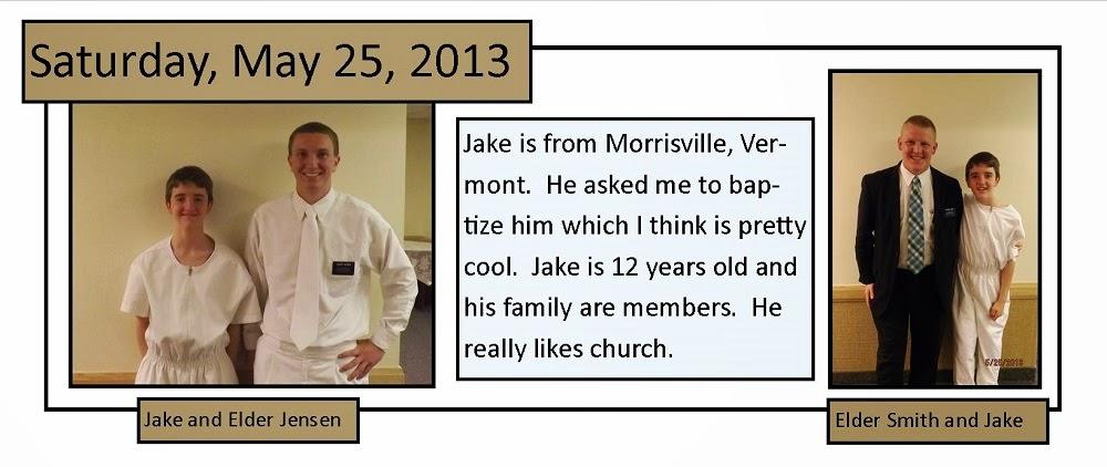 May 25, 2013 Baptism