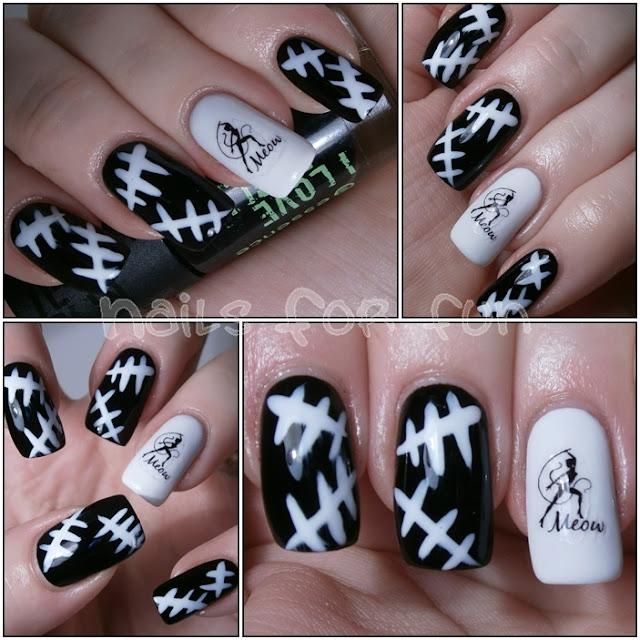 DEKORACIJA vaših prirodnih nokti, noktića, noktiju (samo slike - komentiranje je u drugoj temi) - Page 3 Cat+woman+nails