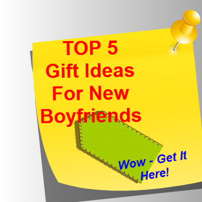gift ideas for new boyfriend