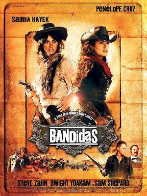 Official movie poster for Bandidas