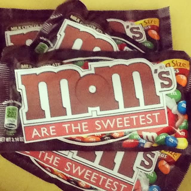 Etiquetas de M & Ms especiales para el Día de la Madre para Imprimir Gratis.