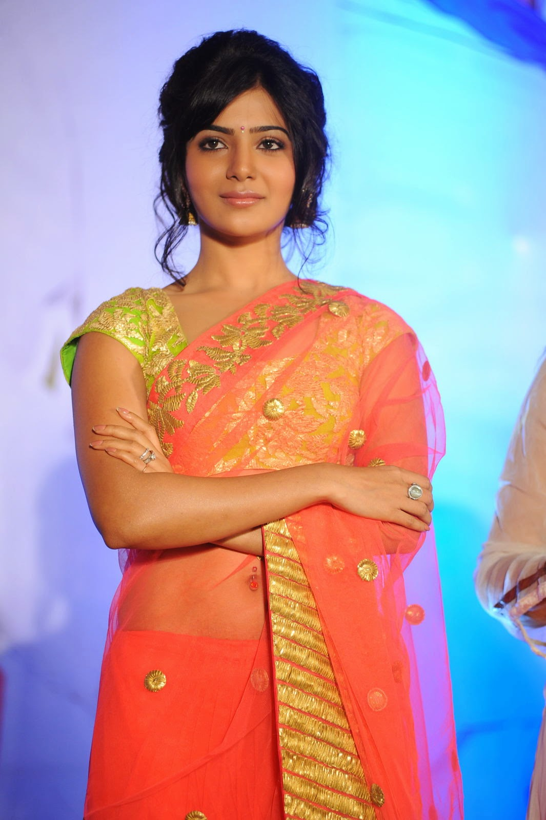 Actress hd gallery samantha cute saree hd hot photo galleryz email thisblogthis altavistaventures Image collections