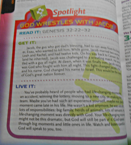 NKJV Study Bible for Kids sample 2
