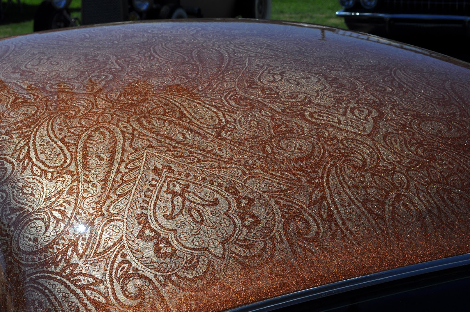 How To Paint Lace Patterns On Cars