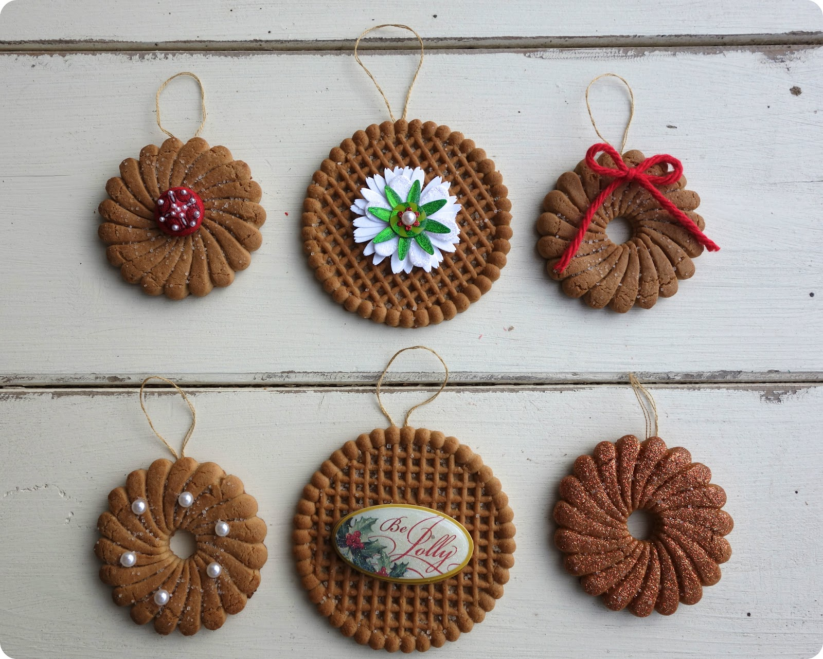 Blissful roots dollar store cookie ornaments - Trabajos manuales de navidad para ninos de primaria ...