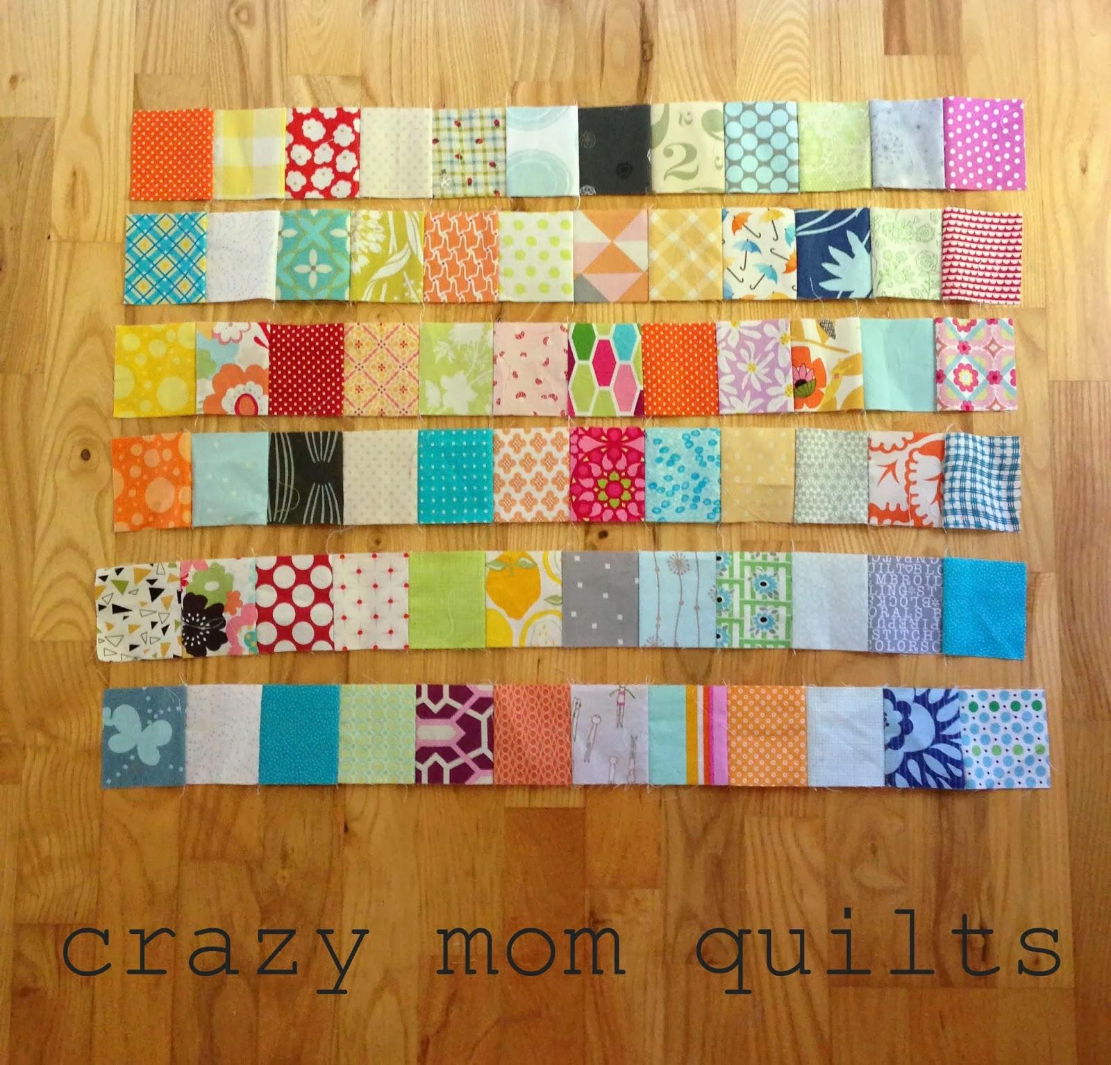crazy mom quilts: one way to randomize patchwork : patchwork quilt squares - Adamdwight.com