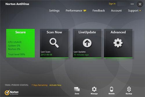 Software Antivirus Gratis dan Terbaik Untuk Komputer - Norton