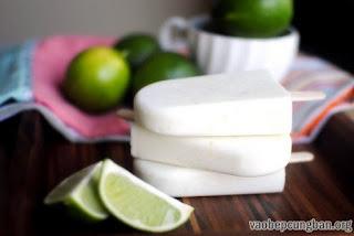 Cách làm kem chanh dừa mát lạnh ngày hè1