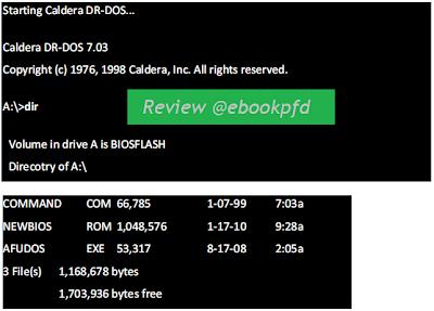Cara melakukan Update Bios atau Flashing BIOS Komputer / PC
