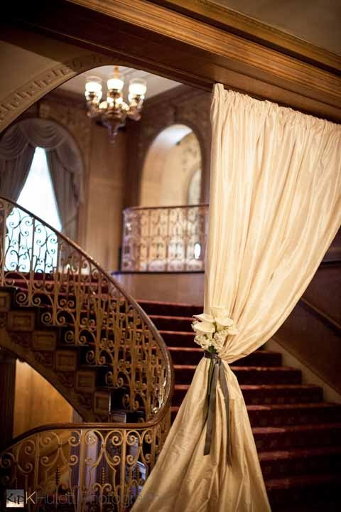 wedding draping, luxury wedding