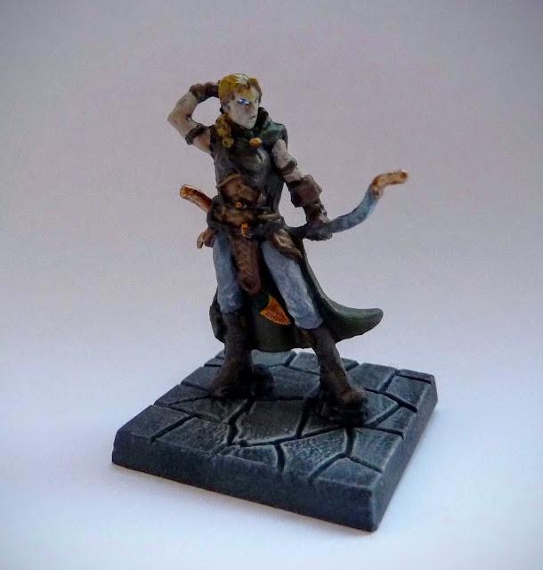 Dungeon Saga: Dwarf Kings Quest painted hero: Madriga