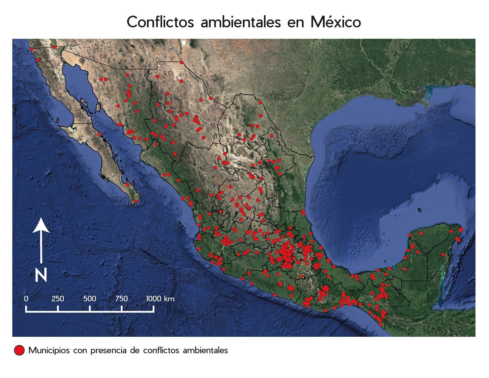 MAPEANDO LAS INJUSTICIAS AMBIENTALES DE MEXICO
